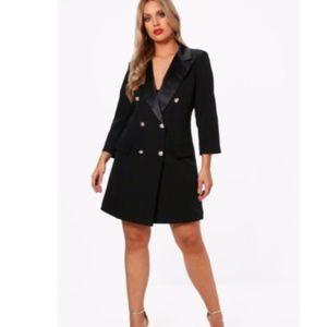fddd44fafe9 Dresses - Plus size tuxedo dress